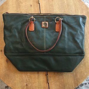 Forest green Dooney & Bourke bag